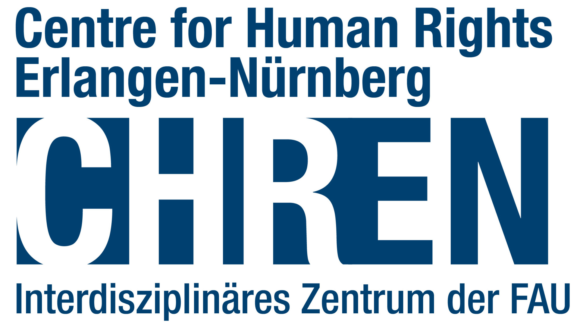 Logo: Centre for Human Rights Erlangen-Nürnberg (CHREN)