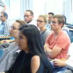 Bild des Publikums bei Wouter Vandenholes Vortrag