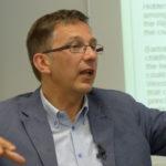 Bild von Wouter Vandenholes Vortrag