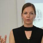 Bild des Vortrages von Ingrid Leijten