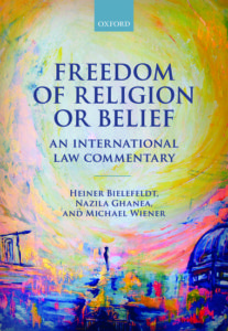 "Coverbild zu Heiner Bielefeldts Werk ""Freedom of Religion or Belief"""