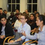 Bild des Publikums bei Beate Rudolfs Vortrag