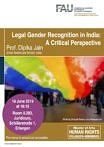 "Zum Artikel ""Veranstaltungshinweis: Legal Gender Recognition in India"""