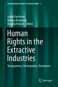 """Cover: """"Human Rights in the Extractive Industries"""""""